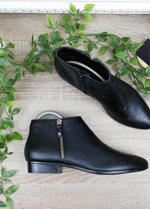 🌿37🌿европа🇪🇺 5th avenue. кожа. классные ботинки