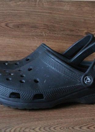 Кроксы черные crocs