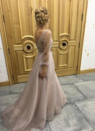 Свадебное платье от украинского дизайнера galina krasnova
