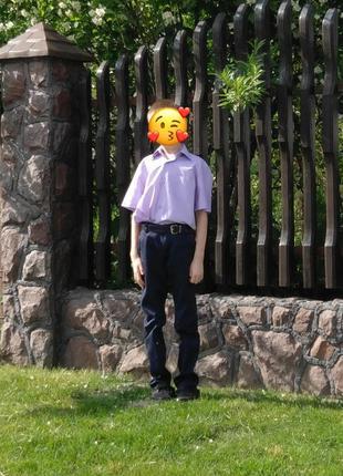 Сорочка для хлопця на короткий рукав