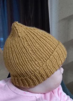 Актуальная шапка бини