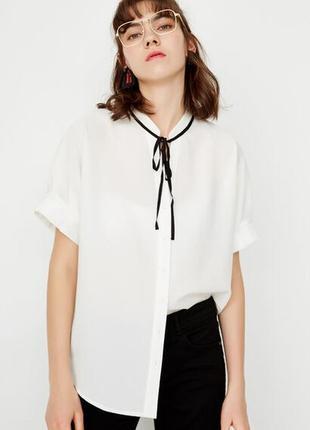 Белая блузка only!