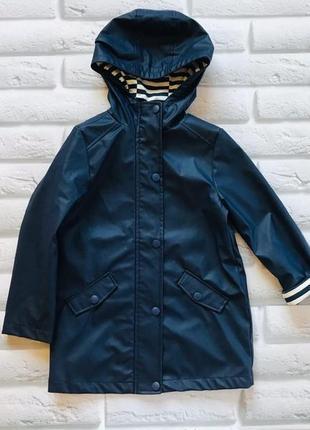 F&f стильная куртка-макинтош на мальчика 7-8 лет