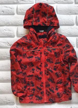 George стильная куртка-ветровка  на флисе на мальчика 4-5 лет