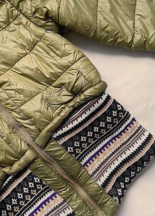 Стильная весенняя курточка в цвете хаки2 фото