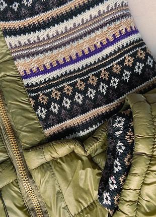 Стильная весенняя курточка в цвете хаки3 фото