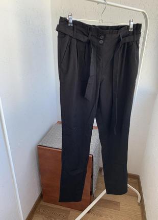 Штаны брюки чёрные классические