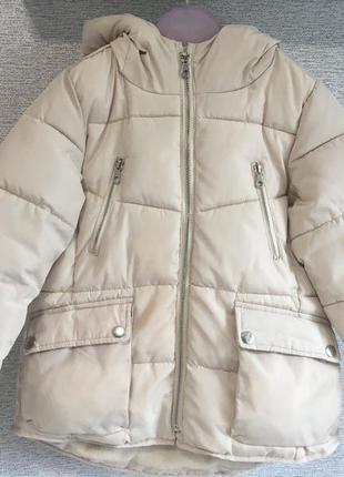 Детская куртка zara для девочки
