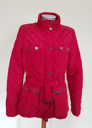 Стильная брендовая куртка на тонком синтепоне
