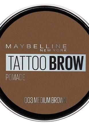 Помада для бровей maybelline нью-йорк tatto brow