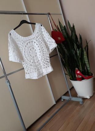 Вязаная блуза 1+1=3