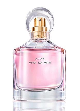 Розпродаж!!! парфумна вода avon ейвон  эйвон viva la vita (50 мл) суперціна!!!