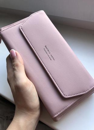 Женский клатч-кошелек baellerry leather