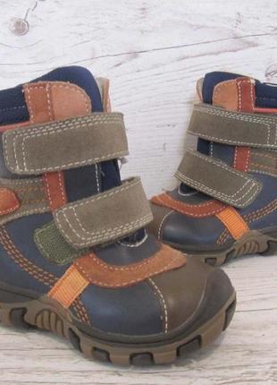 Р.21 детские демисезонные ботинки b&g №563j9