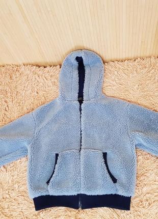 Плюшевая куртка-бомбер bershka
