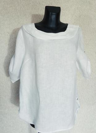 Льняная блуза, италия