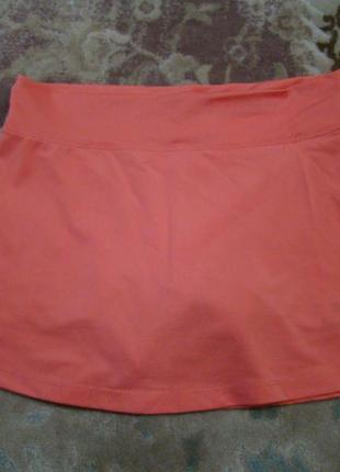 Продам спортивную юбку с шортами osngn р. 140