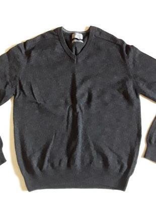Шерстяной джемпер  свитер