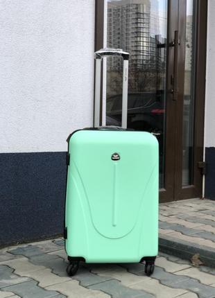 Акция ! маленький чемодан пластиковый ручная кладь валіза пластикова ручна поклажа