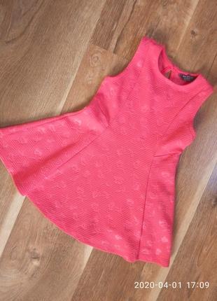 Платье сарафан primark на 1.5-2 года