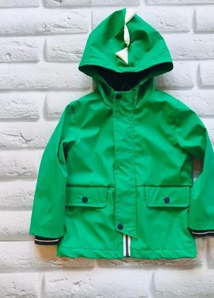 Tu стильная куртка-макинтош на флисе на мальчика 2-3 года