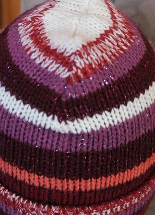 Класна полосата  шапка oysho