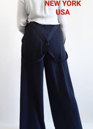 Трендовые брюки палаццо широкие брюки в пол высокая талия