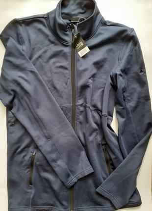 Спортивная кофта с начесом от немецкого бренда одежды для спорта сrivit pro