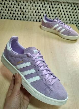 Кросівки adidas campus trainers in purple glow by9848 оригінал