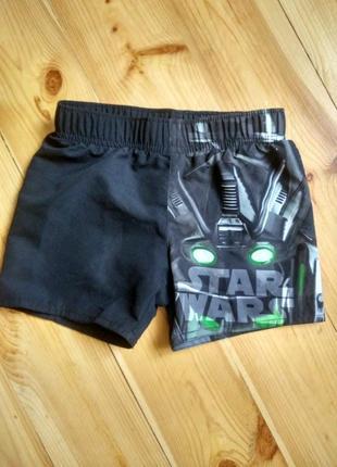 Купальные шорты star wars, 98/104.