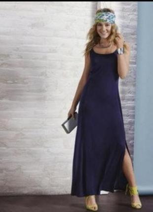 Лёгкие летние платье в пол, длинный сарафан esmara