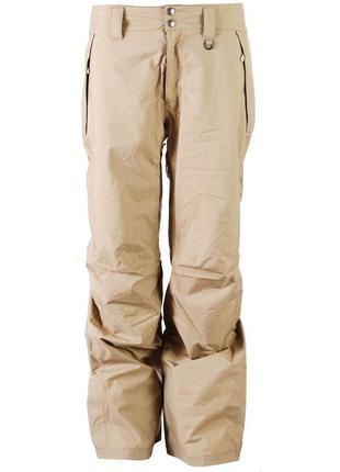Бежевые лыжные штаны на невысокую девушку. совершенно новые. размер - xs-s.