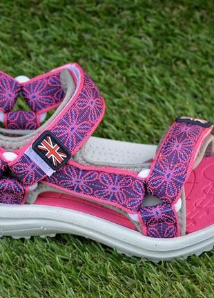 Детские спортивные сандали на девочку фиолетовые р28-33