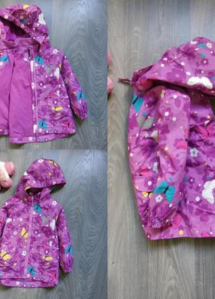 98р ветровка мембранная термо куртка