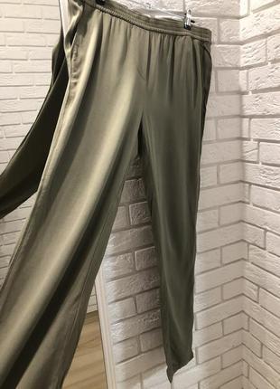 Брюки штаны джоггеры бананы хаки милитари