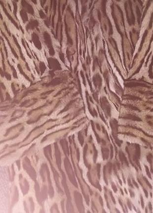 Шуба з леопарда,натуральная.5 фото