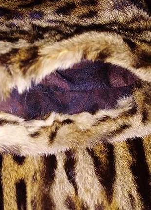 Шуба з леопарда,натуральная.6 фото