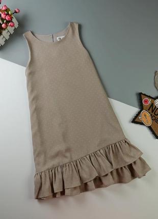 Платье h&m на 8-9 лет/134 см