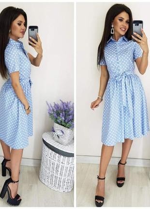 Платье-рубашка👑