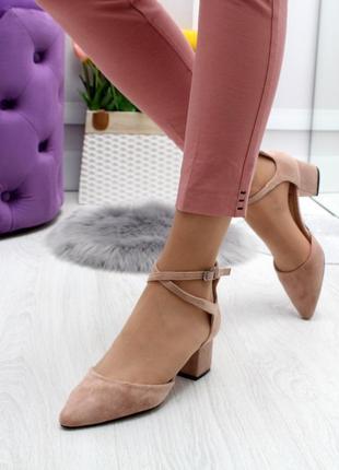 Новые шикарные женские бежевые туфли лодочки