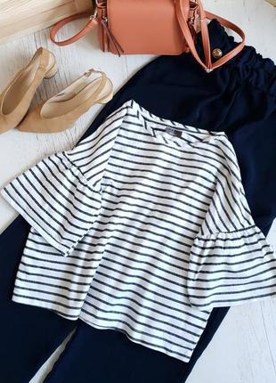Полосатая блуза c&a
