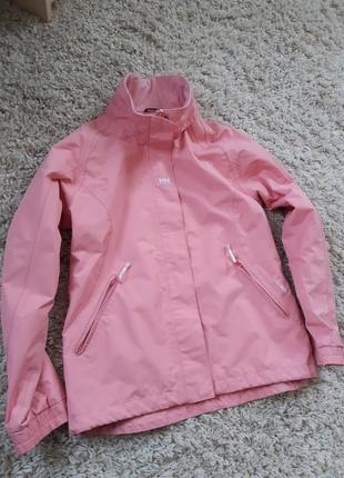 Актуальная легкая куртка ветровка, helly  hansen,  p. 8-10