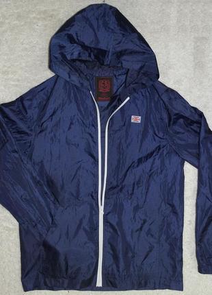 Cedar wood state ветровка дождевик курточка синяя