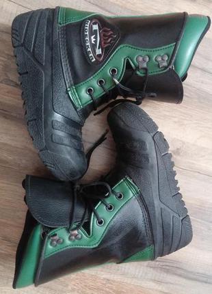 Лыжные ботинки 25 см стелька