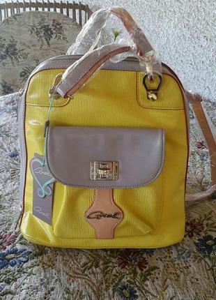 Фирменный рюкзак бренда axel, греция!