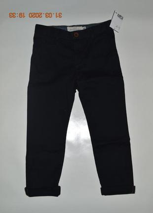 Нові чорні брюки чінос h&m розм. 116, 122, 134 і 140