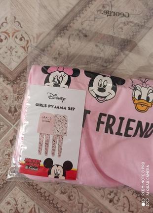 Яркая пижама мини маус disney фирмы george,4-5 лет