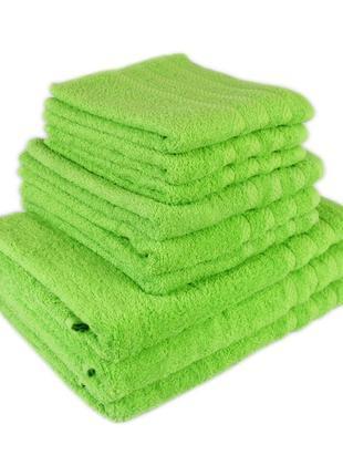 Набор полотенец лицо и баня (из 2шт) цвет салатовый terry lux