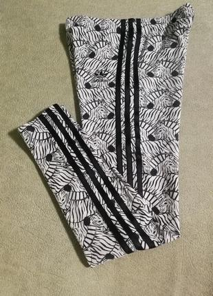 Adidas,фирменные лосины на девочку