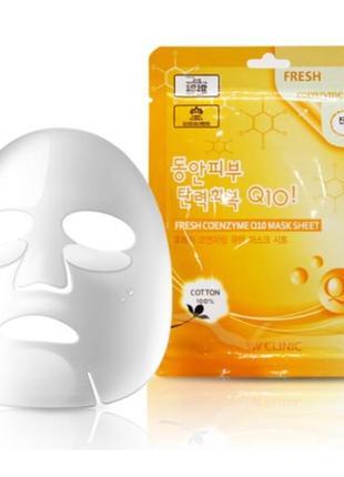 Тканевая маска омолаживающая  с q10